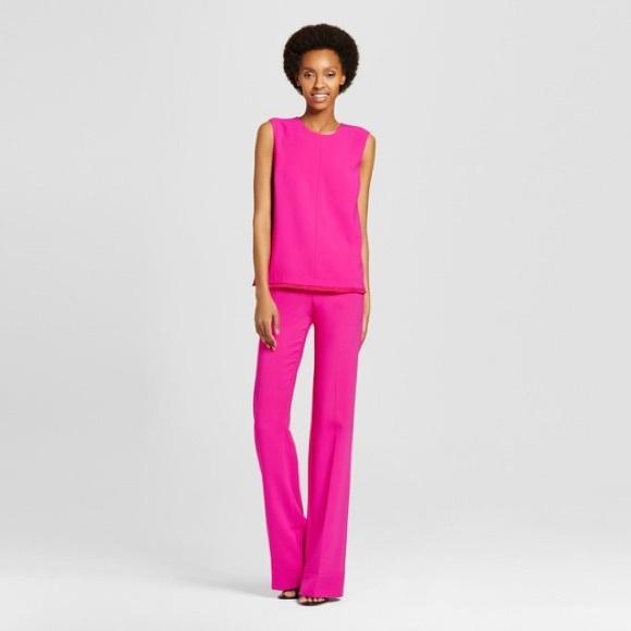 Hot pink pants consider