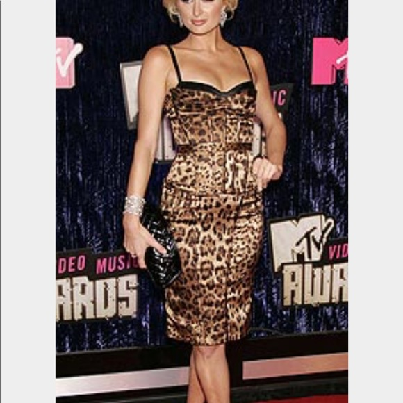 cdd549a6d0c9 Dolce & Gabbana Dresses | Dolce Gabbana Leopard Signature Dress ...