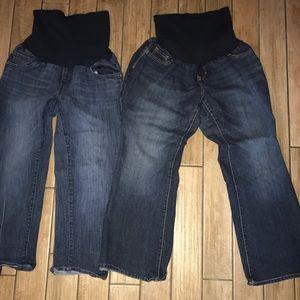 Pants - 3 Pair of maternity pants