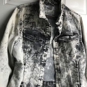 Bongo distressed denim jacket.