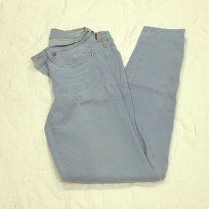 Henry & Belle Super Skinny Ankle Light Blue Jeans