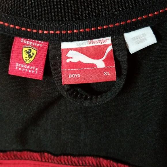 Puma Ferrari Muchachos De La Chaqueta cF31MhG