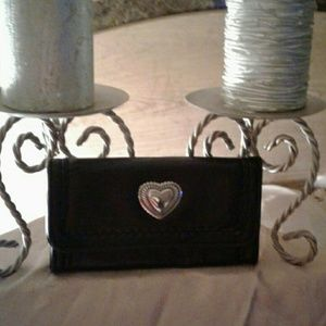 Handbags - New black leather wallet