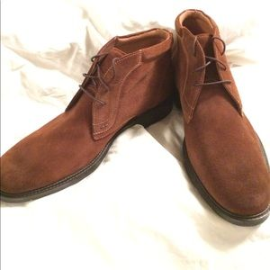 ⚜️NWOT Johnston & Murphy Brown Suede Boots
