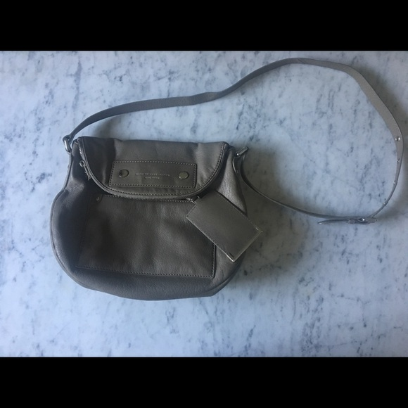 Marc By Marc Jacobs Handbags - Marc by Marc Jacobs Grey Leather Purse