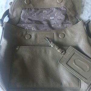 Marc By Marc Jacobs Bags - Marc by Marc Jacobs Grey Leather Purse