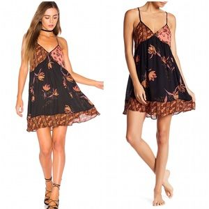Free People Intimately All Mixed Up Slip Dress