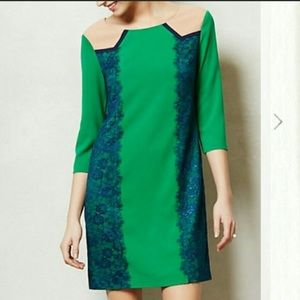 Color Block Lucius Shift Dress from Anthropologie