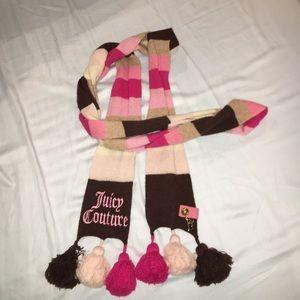 Pom Pom Juicy Couture Scarf