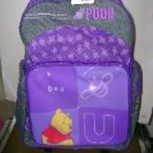 """Winnie the Pooh 18"""" rolling Backpack"""