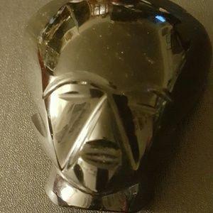 Other - Obsidian gem face