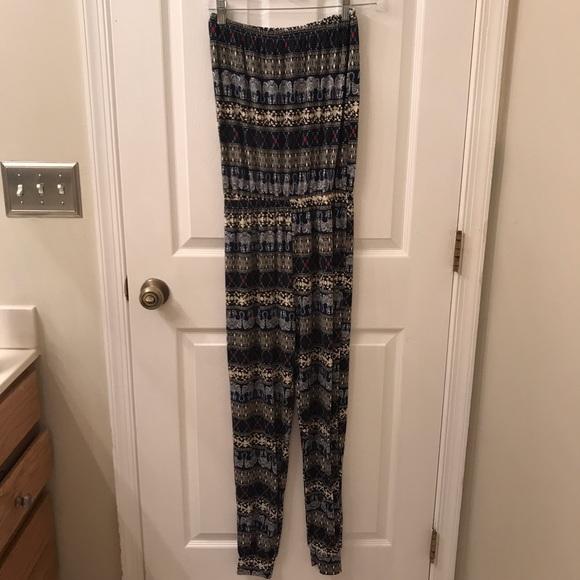 Pants - Strapless Jumpsuit