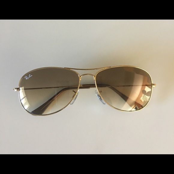 32c4668b26c5 Ray Ban cockpit gold w Crystal brown gradient tint.  M 59b2d9516d64bca9ac03734c. Other Accessories ...