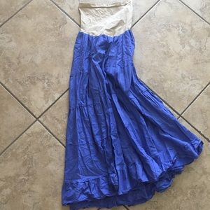 Maternity maxi skirt size large