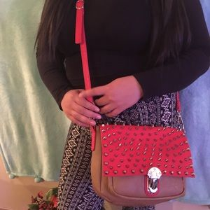 NWOT! MMS Spike Crossbody! Fall Colors!
