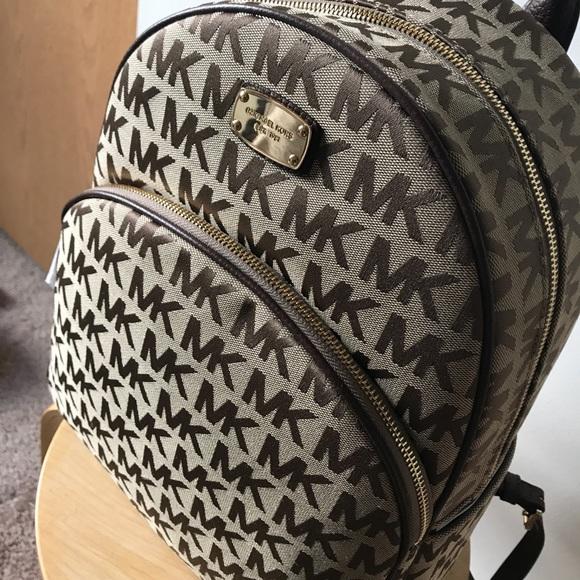2ec707638a98 Michael Kors Bags | Large Abbey Backpack Bnwt | Poshmark