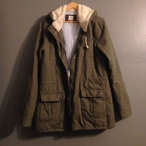 Olive green Pacsun jacket