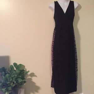 Maternity maxi dress extra small