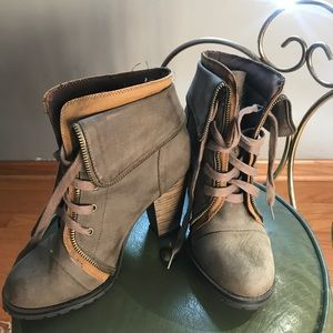 Shoes - Heeled Combat boots
