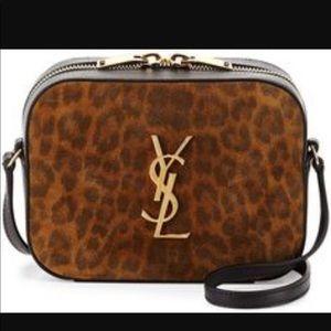 YSL Mini Leopard Camera Bag