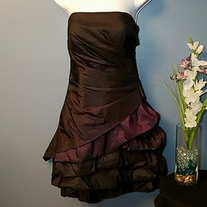 Deep purple ombre party/formal/Homecoming dress