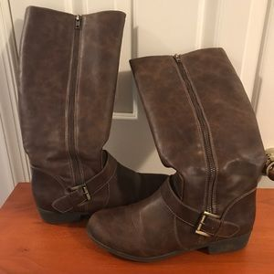 Naturalizer Brown Riding Boots