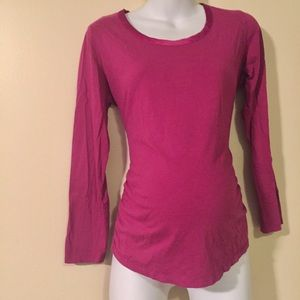 Long sleeve maternity top size large motherhood