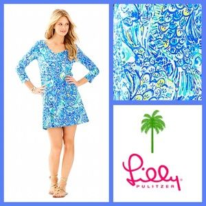 NWT Erin Dress in After the Party, Blue Crush