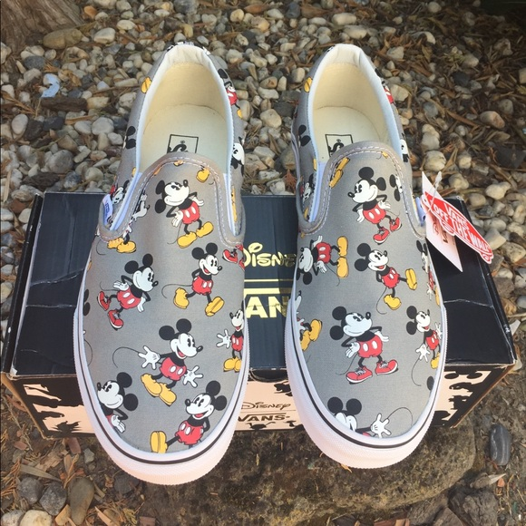 6ad2782543 VANS X Disney Mickey Mouse Sneaker Men sz 10