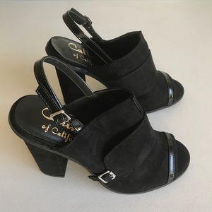 62ce22a1653 Callisto Shoes -  Callisto  Emerson Sling-Back Peep Toe Heels  Flaw