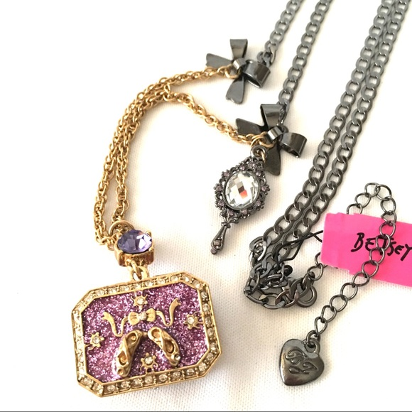 Betsey johnson jewelry betsey j tzarina princess pendant necklace betsey j tzarina princess pendant necklace nwt aloadofball Image collections
