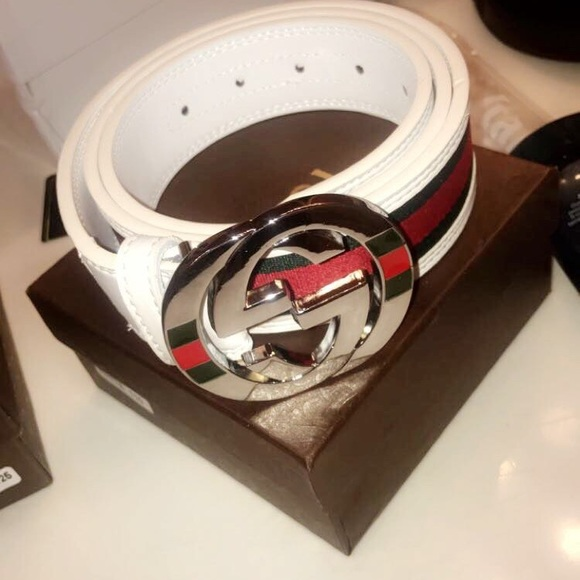 b29055f392d Gucci belts one with flops to match.