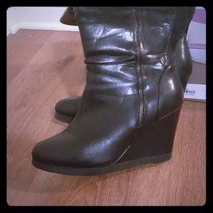 lane bryant tall wedge boot