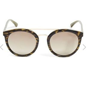 Guess Round Top-Bar Sunglasses
