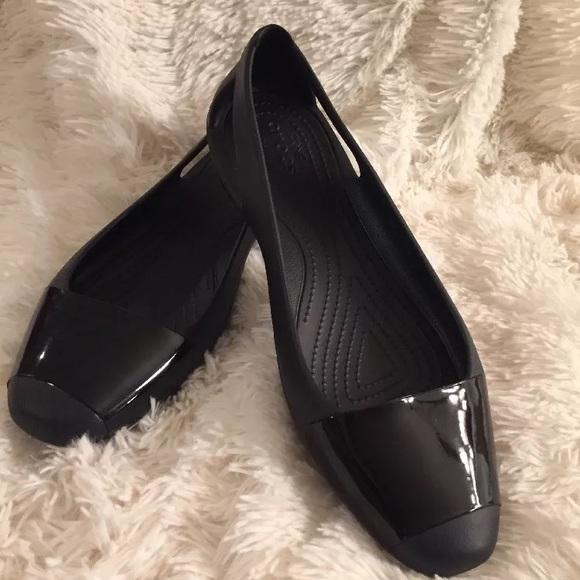 696aa28513c2 CROCS Shoes - CROCS SIENNA Flats Black ICONIC COMFORT Flat 11