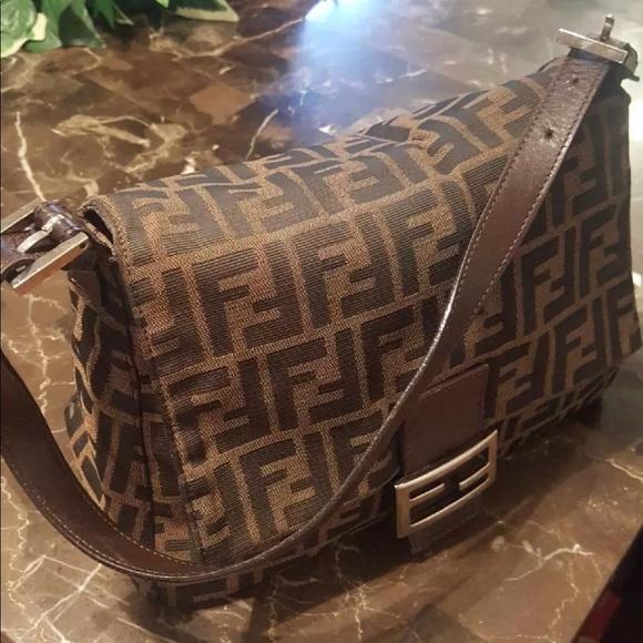 Fendi Handbags - Authentic Fendi Zucca Mama Forever bag (pre-owned) b3c57b8b8150f