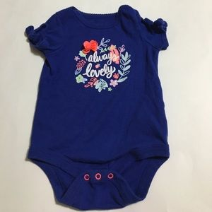 Other - Always Lively Royal Blue Onesie 0-3M