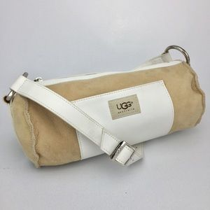 UGG Australia Suede/Leather/Shearling Bag!