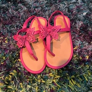 Other - Butterfly old navy sandals