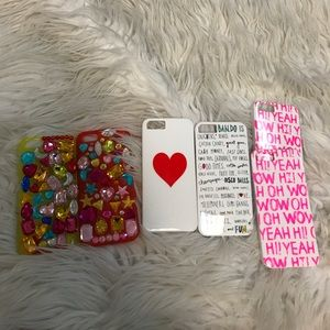 Accessories - iPhone 5/5s phone cases Bundle Deal