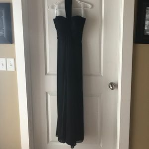 Black gown worn once beautiful Prom ready 😍