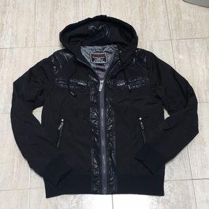 Authentic Guess men's zip up jacket