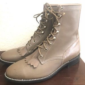 Vintage Justin's style boots by Cowtown