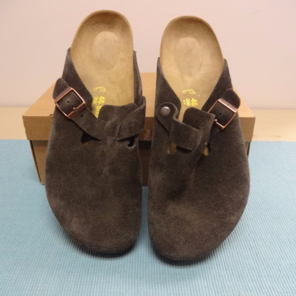6478a924863c Birkenstock Other - Birkenstock Boston Suede Leather Mocha NEW