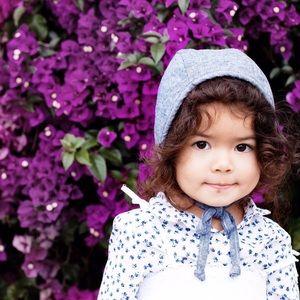 Toddler girl bonnet