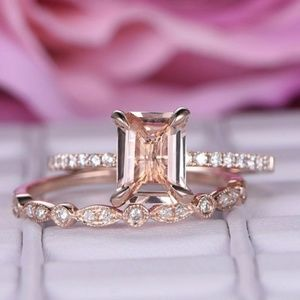 Jewelry - Dainty 1.75ct Emerald cut Engagement Ring