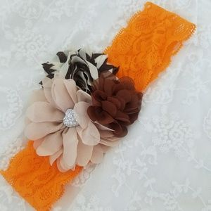 Other - 🎀⚠PRICE DROP⚠NEW Thanksgiving Baby Girl Headband