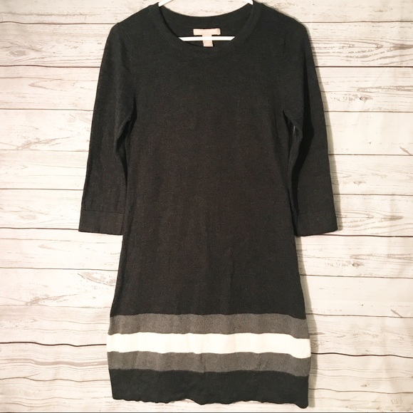 Banana Republic Dresses & Skirts - Banana Republic Sweater Dress with Stripes