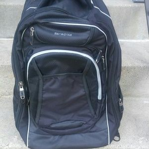 available hot-selling fashion search for original Samsonite Tectonic wheeled Backpack 21