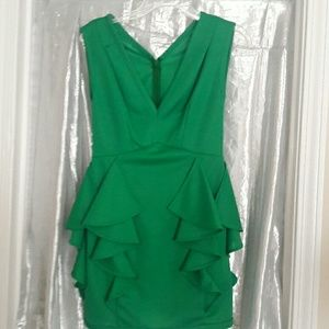 Unknown handmade green top or dress